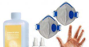 خرید پک آنتی باکتریال بهداشتی از بین برنده کرونا